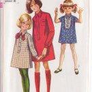 SIMPLICITY VINTAGE PATTERN 7835 GIRL'S SHIRT DRESSIN 3 VARIATIONS SIZE 12