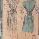 HOLLYWOOD PATTERN 1727, 1940'S MATERNITY DRESS, JUMPER, BLOUSE SIZE 12