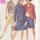 SIMPLICITY PATTERN 8042 MISSES' JACKET, SKIRT, BLOUSE SIZE 14 UNCUT