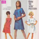 SIMPLICITY PATTERN 8012 MISSES' DRESS IN 2 VARIATIONS SIZE 10 UNCUT