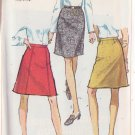 SIMPLICITY PATTERN 7995 MISSES' SKIRT IN 3 VARIAITONS SIZE 24 WAIST UNCUT