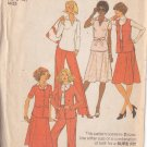 SIMPLICITY PATTERN 8018 MISSES' SKIRT, PANTS, TOP, JACKET SIZE 12