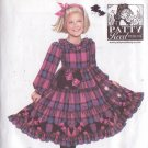 SIMPLICITY PATTERN 2776 GIRL'S PATTY REED DESIGN DRESS SIZES 3-8
