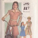 SIMPLICITY PATTERN 8051 GIRL'S PANTDRESS SIZE 12
