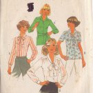SIMPLICITY VINTAGE PATTERN 7896 MISSES' BLOUSES IN 3 VARIATIONS SIZE 16