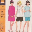 McCALL'S PATTERN 9094 MISSES' MATERNITY DRESS, TOP, CULOTTES, SHORTS  SIZE 8