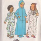 SIMPLICITY PATTERN 7730 CHILD'S ROBE, NIGHTGOWN AND PAJAMAS SIZE 4
