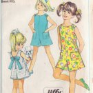 SIMPLICITY PATTERN 7708 CHILD'S JIFFY PANTDRESS SIZE 10