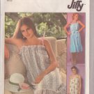 SIMPLICITY PATTERN 8512 MISSES PULLOVER SUNDRESS IN 3 VARIATIONS SIZE 10/12