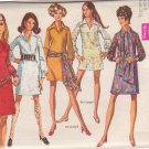 SIMPLICITY PATTERN 8333 DRESS, COVERUP 2 LENGTHS, SCARF SIZE 8