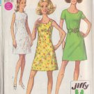 SIMPLICITY PATTERN 8101 MISSES DRESS IN 3 VARIATIONS SIZE 14