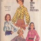 SIMPLICITY PATTERN 8299 MISSES BLOUSE IN 2 VARIATIONS SIZE 18