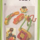 SIMPLICITY PATTERN 8224 CHILD'S 5 STUFFED FABRIC TOYS UNCUT