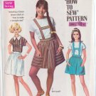 SIMPLICITY VINTAGE PATTERN 8065 MISSES' BLOUSE, SKIRT IN 2 LENGTHS SZ 10