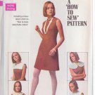 SIMPLICITY VINTAGE PATTERN 8060 JR/PETITE DRESS WITH DETACHABLE COLLARS SZ 9JP