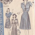 HOLLYWOOD PATTERN 652 MISSES' DRESS IN 2 VARIATIONS SIZE 12 ELLEN DREW