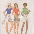 SIMPLICITY PATTERN 7500 MISSES PANTSKIRT AND PULLOVER TOPS SIZES 40 & 42