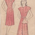 NEW YORK VINTAGE PATTERN 149 MISSES' DRESS IN 2 VARIATIONS SIZE 18