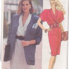 Butterick pattern 3378 Misses' jacket and dress sizes 12/14