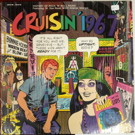 Cruisin' 1967 LP History of Rock N' Roll Radio