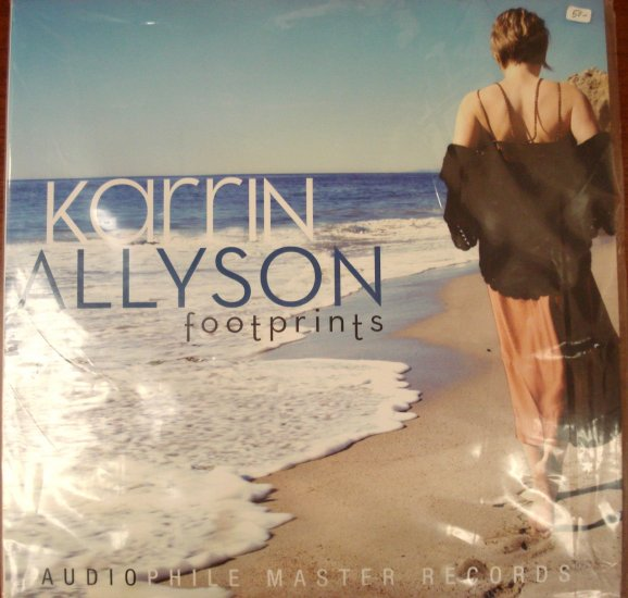 Karrin Allyson Footprints Still Sealed LP Audiophile Master Records