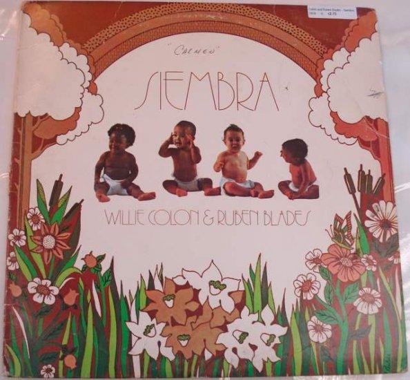 Willie Colon & Ruben Blades Siembra 1978 LP