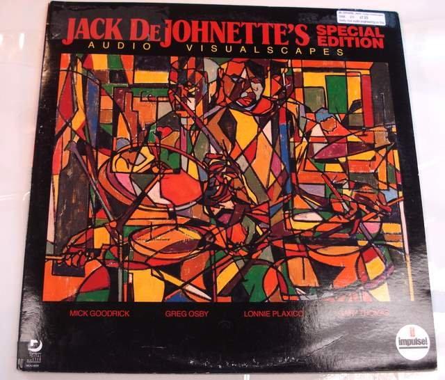 Jack de Johnette Audio Visualscapes 1988 Impulse LP