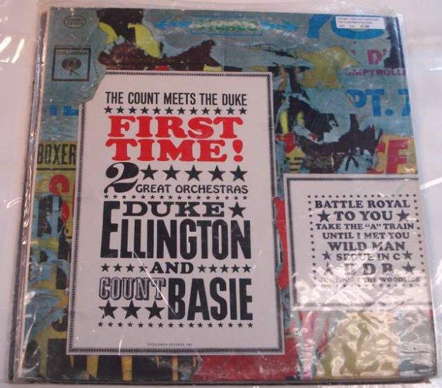 Duke Ellington and Count Basie The Count Meets the Duke 1962 LP