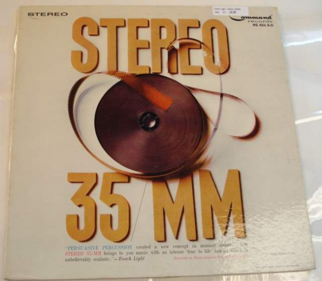 Enoch LIght Stereo 35MM 1960 LP