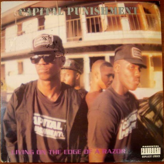 Capital Punishment - Living on the Edge of a Razor LP