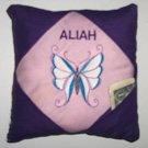 PERSONALIZED tooth fairy pillow BUTTERFLY