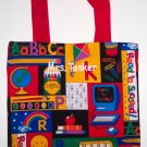 PERSONALIZED BACK TO SCHOOL TOTE BOOK BAG