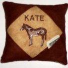 PERSONALIZED tooth fairy pillow HORSE