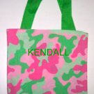 PERSONALIZED tote bag - PINK CAMOUFLAGE
