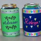 PERSONALIZED KOOZIE Can Soda Cover - Many Designs!!