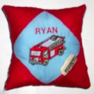 PERSONALIZED Tooth Fairy Pillow - FIRETRUCK!!