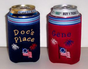 PERSONALIZED Patriotic Koozie Can Cover!!