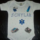 PERSONALIZED ONESIE - EMT MEDICAL DOCTOR!