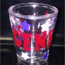 PERSONALIZED Acrylic Holiday SHOT GLASS - all occasions