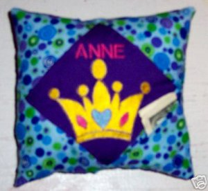 PERSONALIZED TOOTH FAIRY PILLOW for a Princess!!