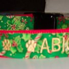 PERSONALIZED ID DOG COLLAR for Christmas!!!