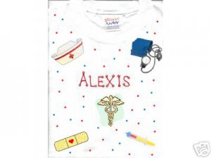 PERSONALIZED  ONESIE - NURSE!