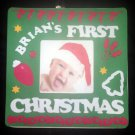 PERSONALIZED Decorated Picture Frame for Baby's Christmas! Design ur own!