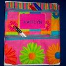 PERSONALIZED UNIQUE School Supplies Pencil Case Tote!