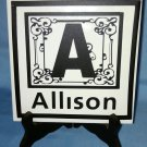 PERSONALIZED Ceramic Wall tile - Design your own!  Use for wall or display!
