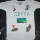 PERSONALIZED  ONESIE - GOLF!!