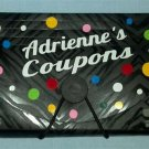 PERSONALIZED Coupon Holder!  DESIGN YOUR OWN keep your grocery coupons organized
