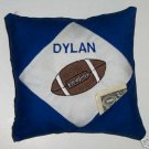 PERSONALIZED Tooth Fairy Pillow  for a FOOTBALL fan!!