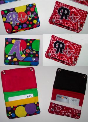 PERSONALIZED small boutique WALLET - design your own!
