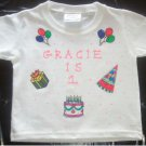 PERSONALIZED TODDLER/YOUTH T-SHIRT - BIRTHDAY PARTY!